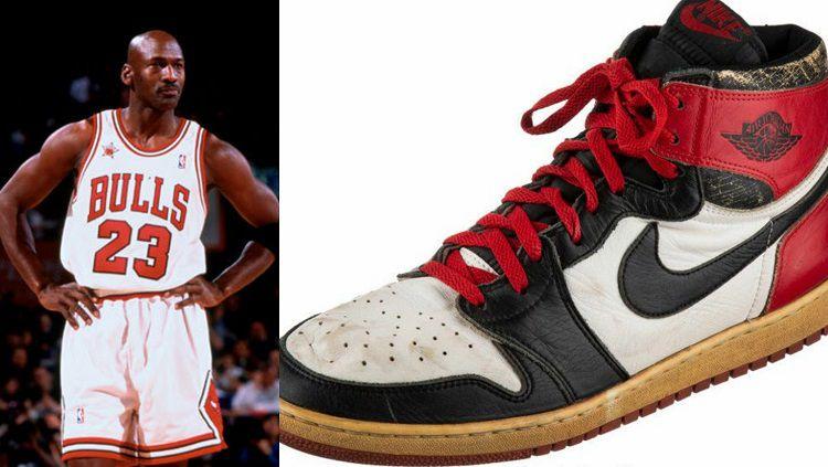 Sepatu Michael Jordan musim debut laku dilelang Rp8,2 miliar