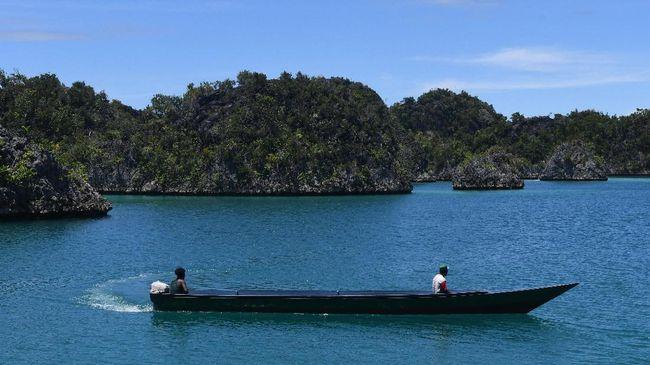 Kali Biru, Destinasi Wisata Tersembunyi di Raja Ampat