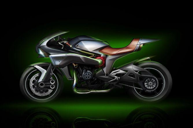 Kawasaki SC-01, Motor Supercharged Kedua Geng Hijau?