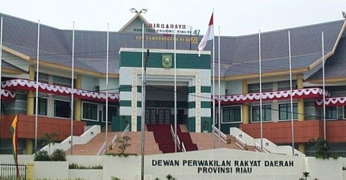 2 Orang Anggota DPRD Riau Akan di Lantik