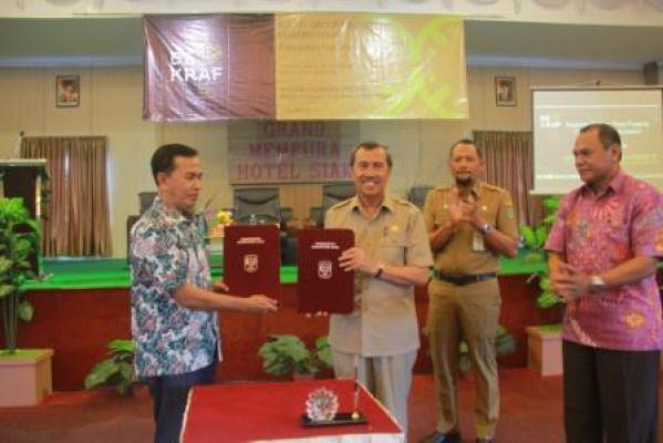 Pertama di Sumatera, Pemkab Siak Tandatangani Kesepahaman LPDP
