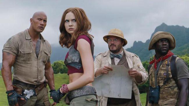 Empat Karakter Utama Akan Kembali di 'Jumanji 3'