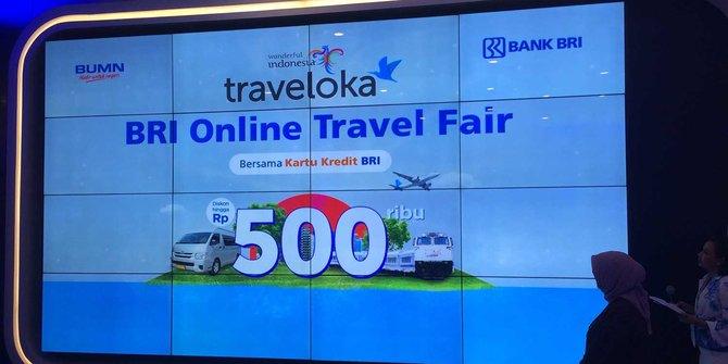 Tiket Pesawat Mahal, Kemenpar Harap Promo BRI & Traveloka Stabilkan Sektor Pariwisata