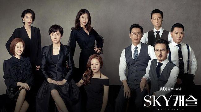5 Drama Korea dengan Rating Tertinggi, 'Sky Castle'
