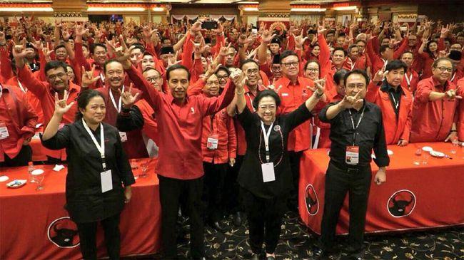 PDIP Pasang Target Menang 22 Persen di Pemilu 2019