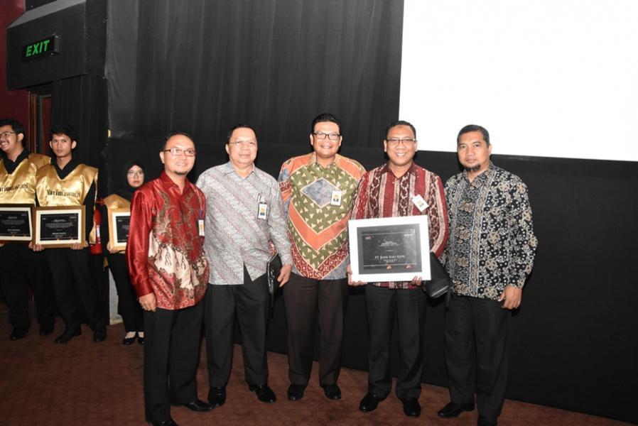 Bank Riau Kepri Syariah mendapat kepercayaan sebagai The Most Expanding Funding UUS
