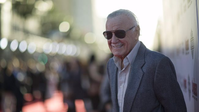 Stan Lee Raih Penghargaan dari Hollywood
