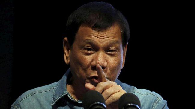 Paspampres Ditembak Pemberontak, Duterte Ancam Batal Berdamai