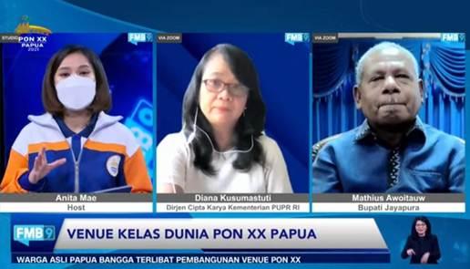 Panitia Optimis Pelaksanaan PON XX Papua Sesuai Rencana