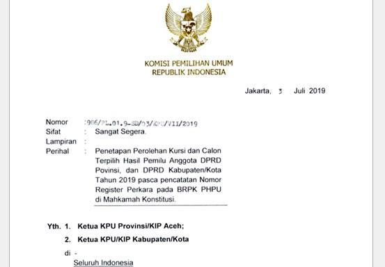 KPU Rohul Tunda Penetapan Perolehan Kursi dan Calon Anggota DPRD Terpilih