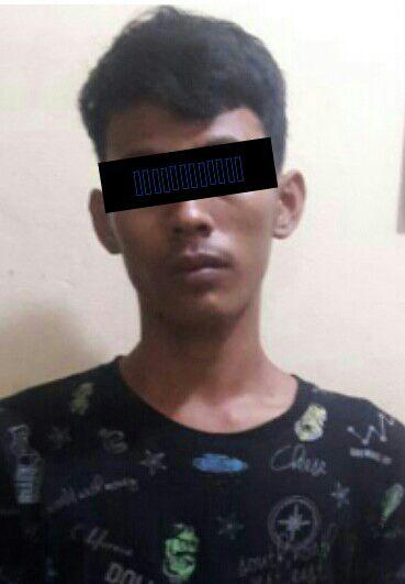 Aniaya Satpam Pakai Gunting, Pemuda di Ujungbatu Diamankan Warga