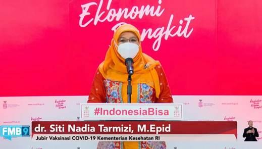 Nadia Dorong Masyarakat Sukseskan Program Vaksinasi
