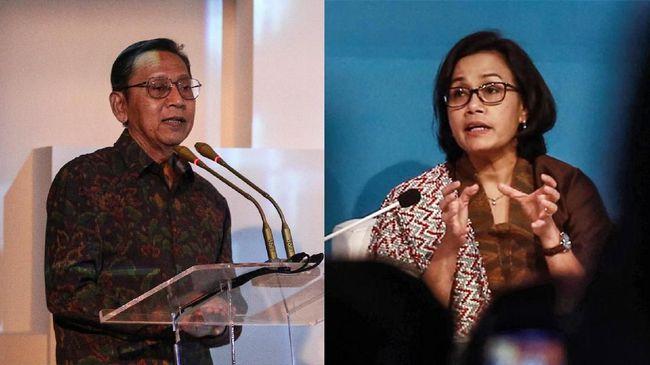 Sri Mulyani 'Pasrahkan' Penetapan Tersangka Boediono ke KPK
