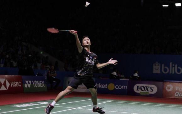 Anthony Ginting Lolos ke Perempat Final Japan Open