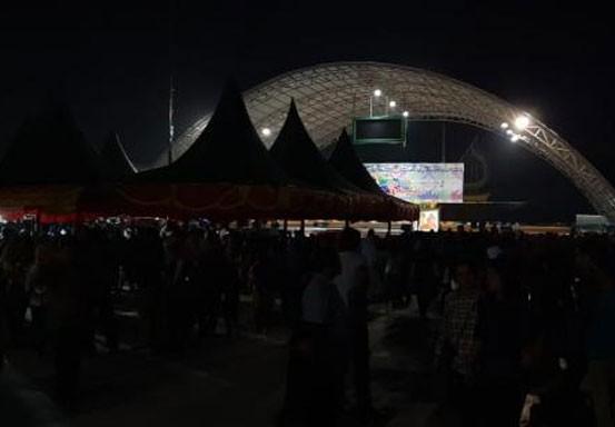 Dumai Expo Minim Penerangan, Warga Waswas
