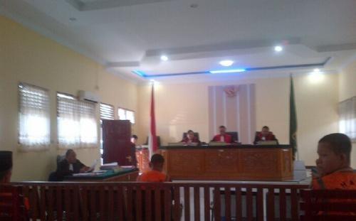 Terdakwa Pembunuhan Janda Muda di Inhu Dituntut Jaksa 12 Tahun Penjara