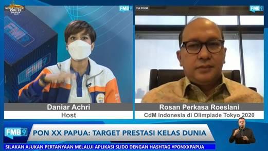 PON XX Papua Diharapkan Jadi Kawah Hasilkan Atlet Kelas Dunia