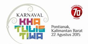 Karnaval Khatulistiwa, Perayaan Kemerdekaan Untuk Bangkitkan Kemandirian dan Optimisme Bangsa