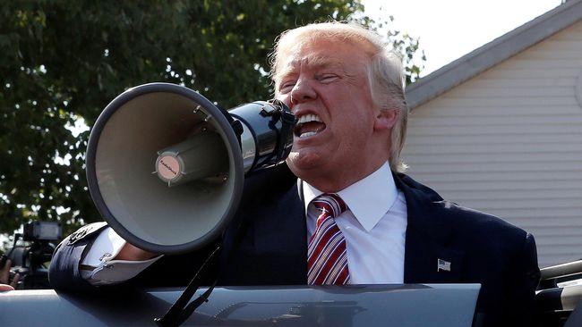 Trump Diduga Pakai Dana Amal untuk Sengketa Hukum
