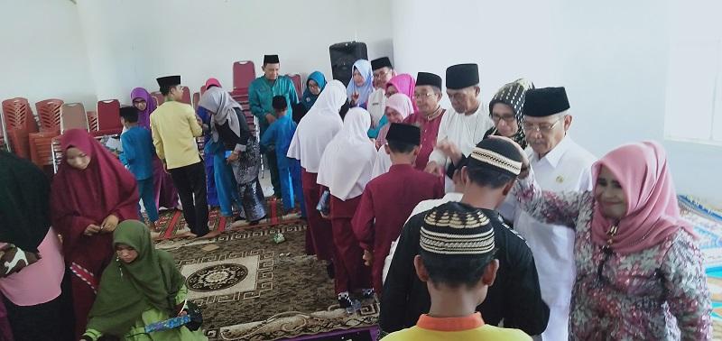 Sambut Ramadhan, Disdik Rohil Halal Bihalal