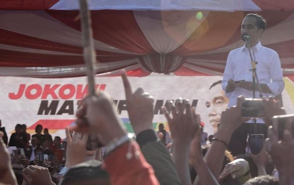Jokowi: Pesta Demokrasi Jangan Sampai Ada yang Marah-marah
