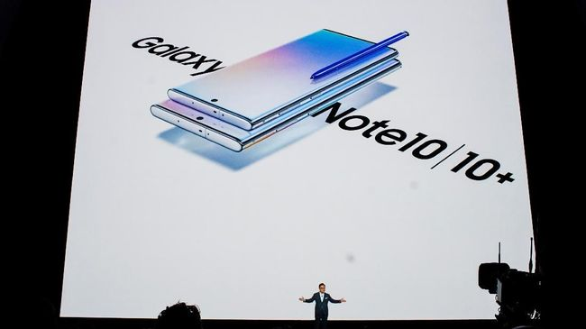 Samsung Galaxy Note 10 Resmi Diumumkan, Usung 4 Kamera Utama