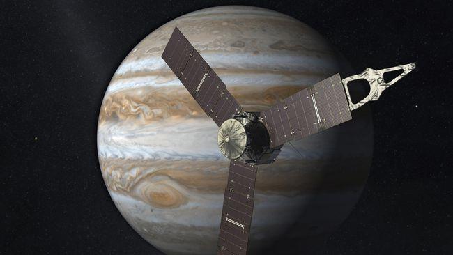 Selain Mars, Pesawat Penjelajah Jupiter juga Hilang Kontak