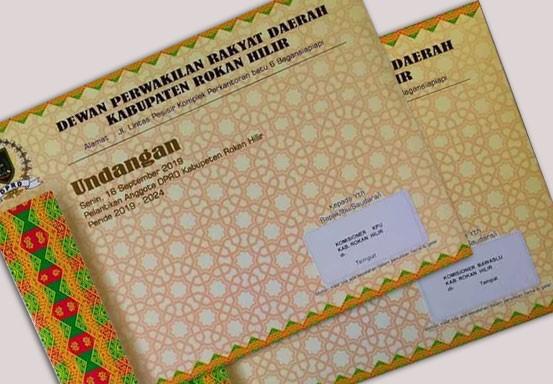 Anggota KPU dan Bawaslu Diundang ke Pelantikan DPRD Rohil Tapi Tak Disediakan Kursi
