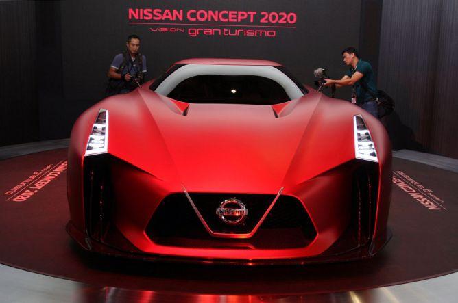 Nissan Concept 2020 Vision Gran Turismo Jadi Magnet di TMS 2015