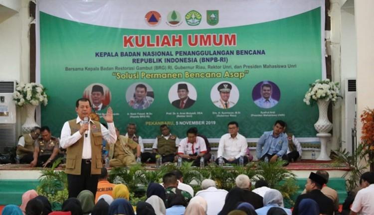 Karhutla Riau Sedot Anggaran BNPB Rp468 M