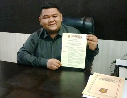 DPP Gerindra Tunjuk Novliwanda Ketua DPRD Rohul, Abdul Halim Ketua Fraksi