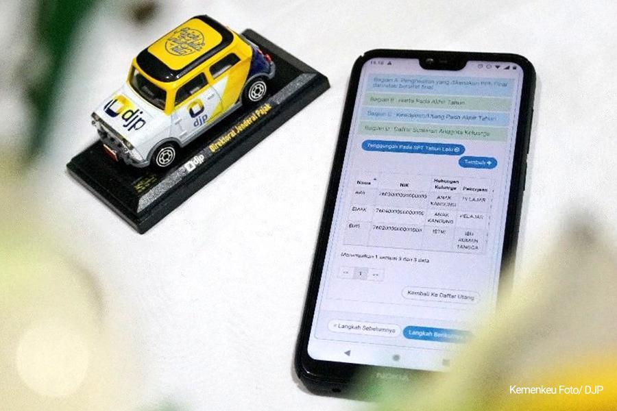 Penyampaian Laporan Pajak Harus Gunakan e-Filing