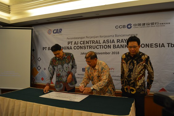 CHINA CONSTRUCTION BANK INDONESIA JADIKAN CAR LIFE INSURANCE PARTNER BANCASS PERTAMANYA