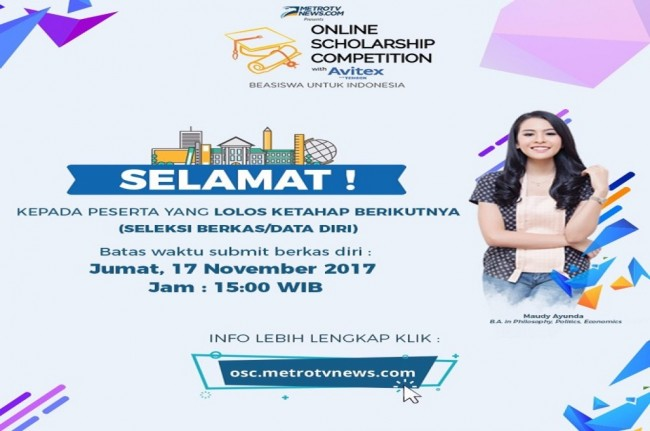 150 Peserta Lolos Tes Online OSC with Avitex 2017