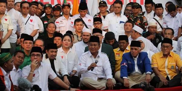 Prabowo Hadiri Pertemuan KMP-Zulkifli Hasan