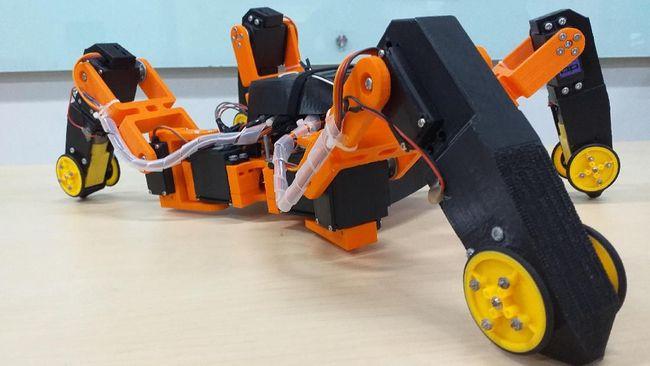 Anak Bangsa Kembangkan Robot Hibrida Pendeteksi Gempa