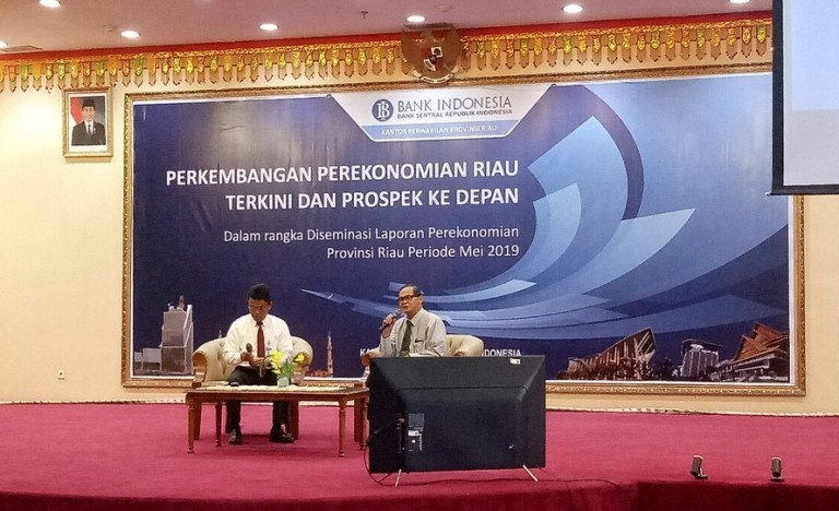Triwulan I, Ekonomi Riau Tumbuh 2,88 Persen