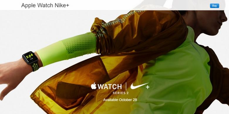 28 Oktober, Apple Rilis Watch Edisi Nike