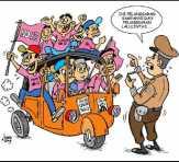 Konvoi Kendaraan Saat Kampanye Akbar di Mandau Tak Diperbolehkan