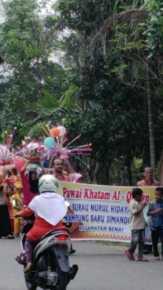 Diarak Keliling Kampung, 30 Anak Murid Surau Nurul Hidayah Simandolak Khatam Al-quran