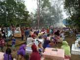 Sambut Ramadhan, Ratusan Masyarakat Siak Gelar Goro
