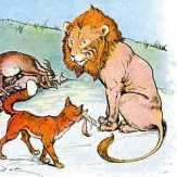 Keledai, Rubah, dan Singa