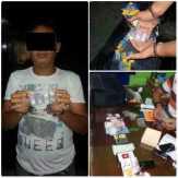 Diduga Bawa Sabu, Pengendara Mio Ditangkap Polisi Rohul di Tengah Jalan