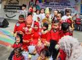 Diikuti Ratusan Peserta, Peringatan Hari Anak Nasional di Kuansing Berlangsung Meriah