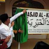 Bupati Rohil Resmikan Musholla kita Menjadi Mesjid Al- Khairiyah