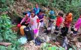 Warga Inhu Mengalami Kekeringan Air Bersih