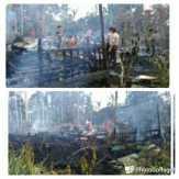 Dua Rumah di Kecamatan Gaung, Inhil Ludes Terbakar