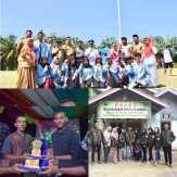Mahasiswa KKN UNRI Gelar Berbagai Perlombaan di Desa  Sungai Sitolang Rokan Hulu