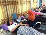 Bhayangkari Polda Riau Ramai-ramai Donor Darah