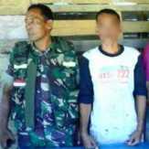 Sempat Kejar-kejaran, TNI dan Polri Berhasil Tangkap Pembakar Area Bukit Suligi